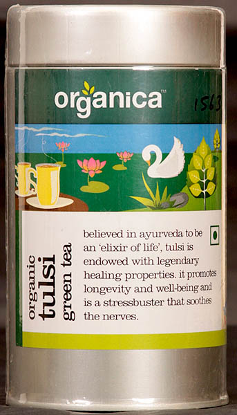 Organic Tulsi Green Tea