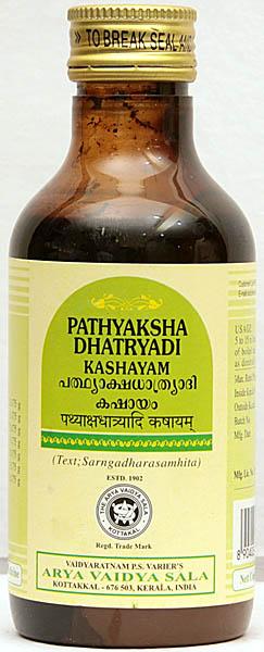 Pathyakshadhatryadi Kashayam