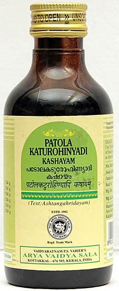 Patolakaturohinyadi Kashayam