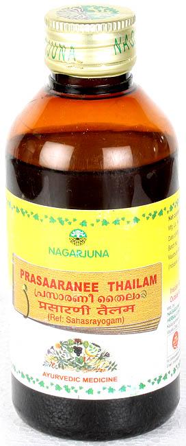 Prasaaranee Thailam (Ref: Sahasrayogam)