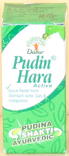 Pudin Hara Active (Quick Relief from Stomach Ache, Gas & Indigestion):