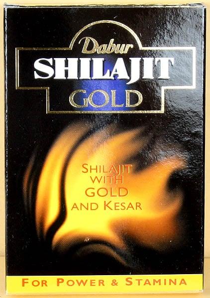 Shilajit Gold Capsules (Shilajit with Gold And Kesar) Net. 10 Capsules