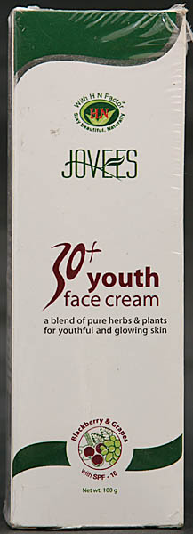 30+ Youth Face Cream (With Blackberry & Grapes)