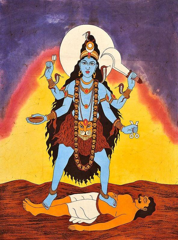 The Ten Mahavidyas : Tara - The Goddess Who Guides Through Troubles