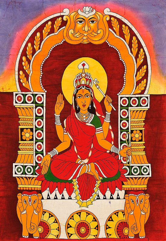 The Ten Mahavidyas : Bhuvaneshwari - She Whose Body is the World