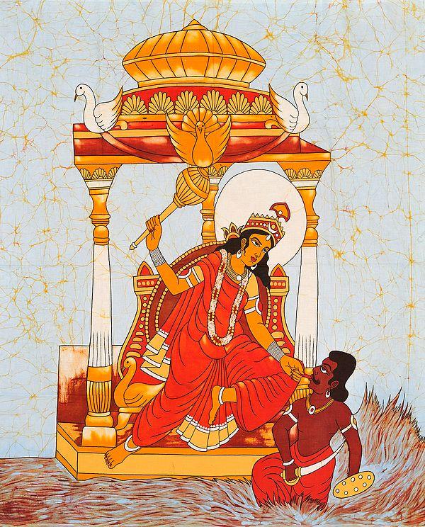 The Ten Mahavidyas : Bagalamukhi - The Paralyzer