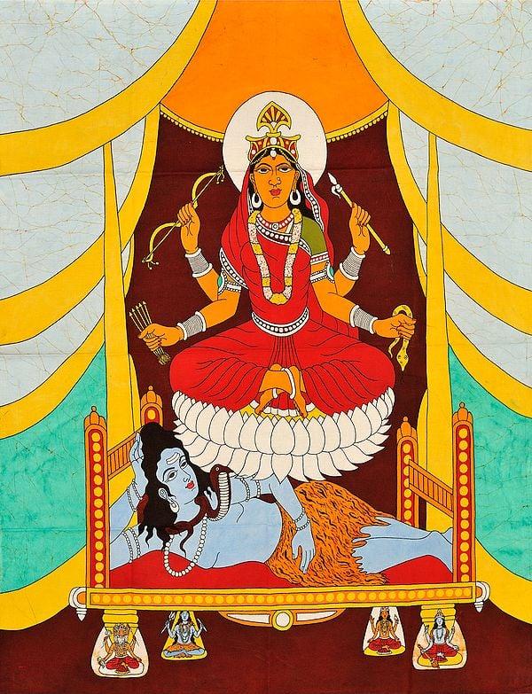 The Ten Mahavidyas : Shodashi - She Who is Lovely in the Three Worlds