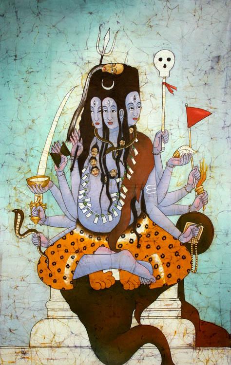 Panchanana or Five-Headed Shiva