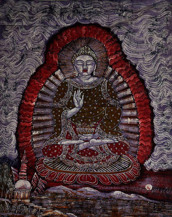 Gautam Buddha in the Abhaya Mudra