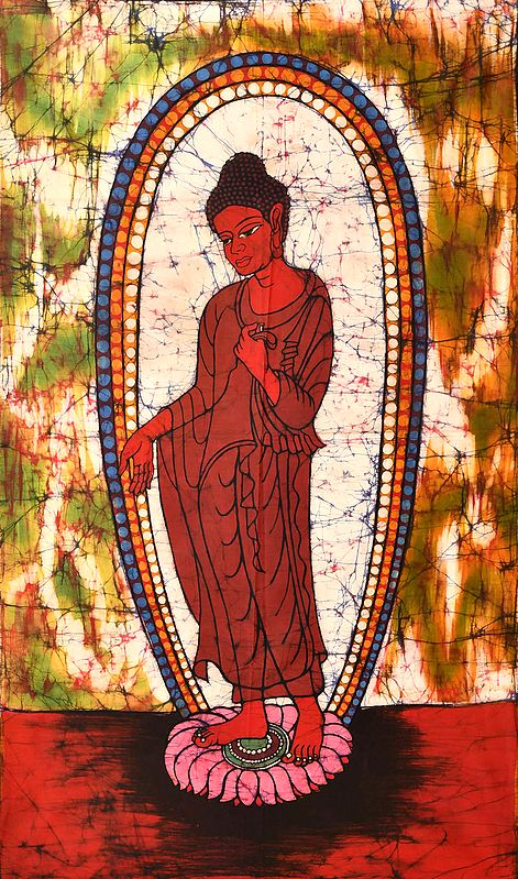 Standing Buddha, In Seedless Calm