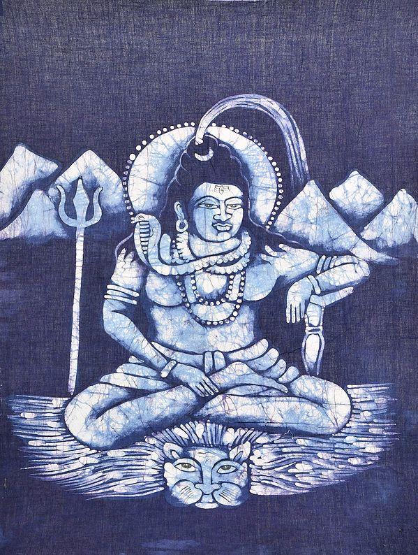 Veerasana Lord Shiva