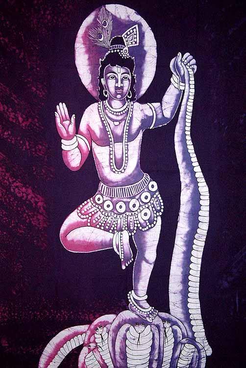 Dancing over Kaliya