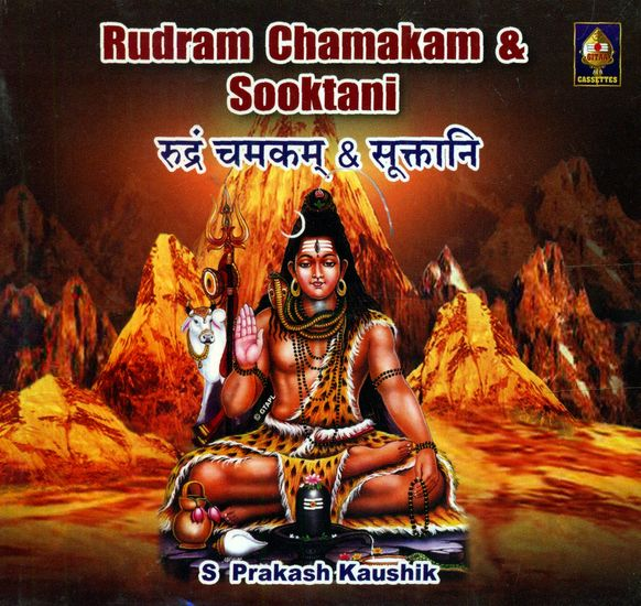 Rudram Chamakam and Sooktams (Audio CD)