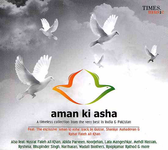 Aman Ki Asha A Timeless Collection from the Very best In India & Pakistan (Set of two Audio CD)