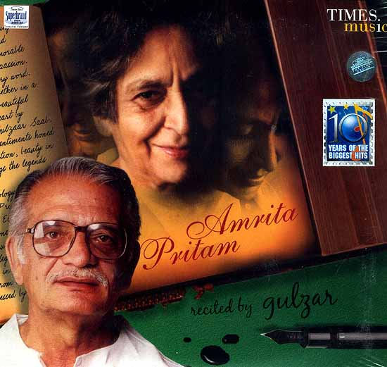 Amrita Pritam Recited by Gulzar (Audio CD): Includes a Collector's Booklet with Poems in English, Hindi and Gurumukhi