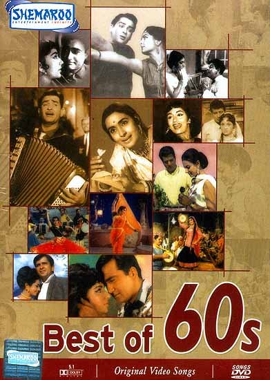 Best of 60s  (Famous Hindi Film Songs from the 1960's - DVD with English Subtitles): Experience the Rich Variety of Indian Culture in Visual Terms