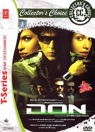 Don: Wanted by the Police. Hunted Day and Night. Forever on the Run…The Chase Has Begun - A Film Shot in Malaysia (Hindi Film DVD with English Subtitles)