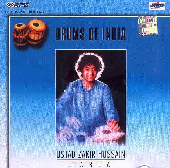 Drums of India Ustad Zakir Hussain Tabla (Audio CD)