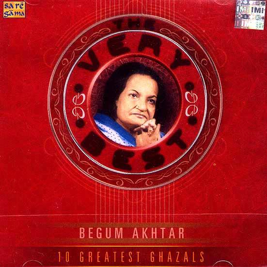 10 Greatest Ghazals Begum Akhtar (Audio CD)