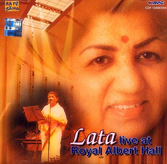 Lata Live at Royal Albert Hall (Set of 2 Audio CDs)