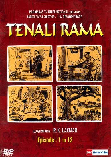 Tenali Rama (Episodes: 1 to 12) (DVD Video with English Subtitles)