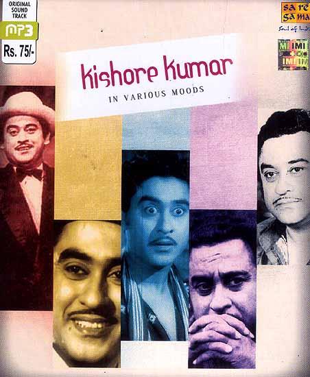 Kishore Kumar in Various Moods (MP3 CD)
