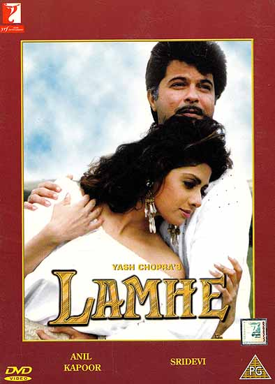 Moments: A Tender Story of a Girl in Love with a Man much Older Than Herslf (Hindi Film DVD with English Subtitles) (Lamhe)