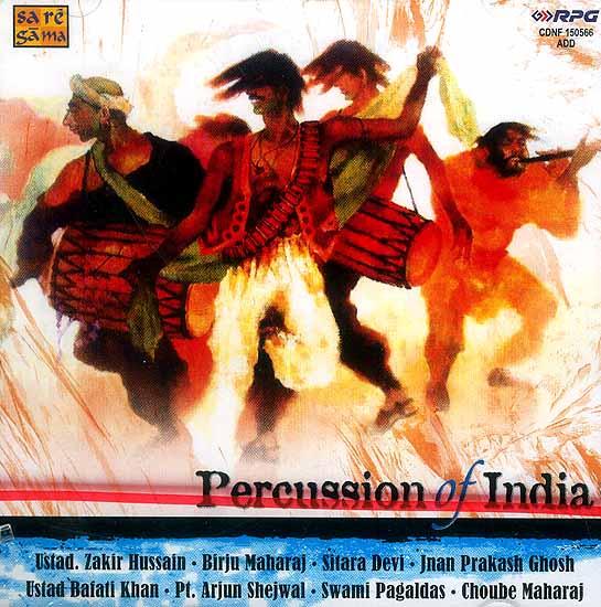 Percussion of India (Audio CD)