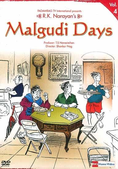 R.K. Narayan's Malgudi Days Volume-4 (Hindi DVD Video with English Subtitles)