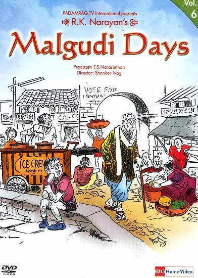 R.K. Narayan's Malgudi Days Volume-6 (Hindi DVD Video with English Subtitles)
