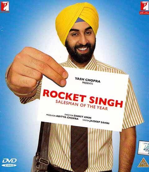 Rocket Singh Salesman of the Year (DVD): Comedy Hindi Film with Optional Subtitles in English/Arabic/Dutch