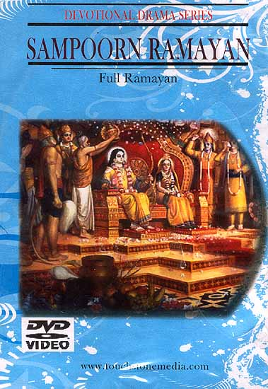 Sampoorn Ramayan Full Ramayan Devotional Drama Series (Hindi with English Subtitles) (DVD Video)