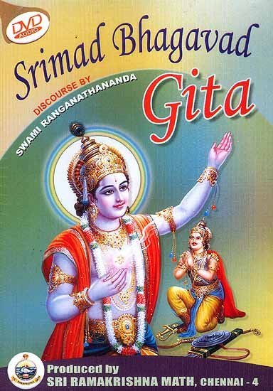 Srimad Bhagavad Gita <br> (Audio CDs of 7 volumes now in a single DVD)<br> (Audio 