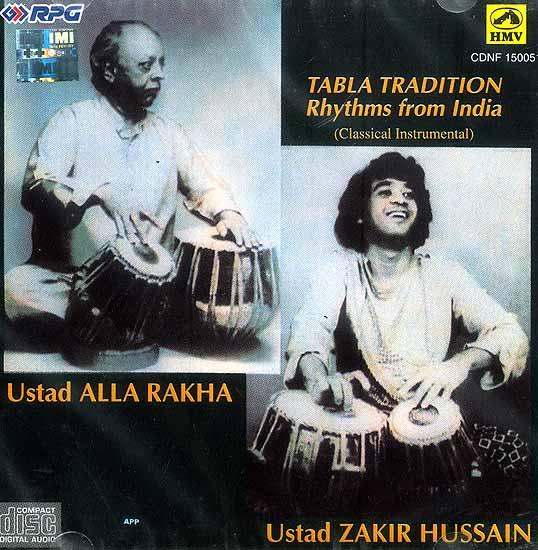 Tabla Tradition Rhythms from India (Classical Instrumental) (Audio CD)