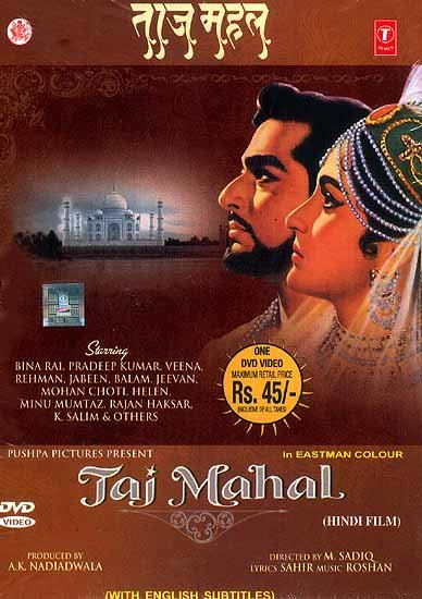 Taj Mahal (Hindi Film) (DVD Video)