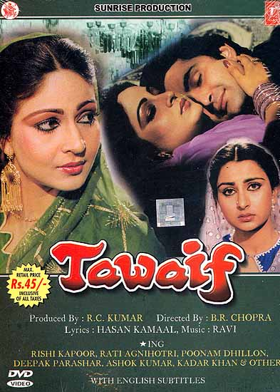 Tawaif: The Story of a Prostitute in Love (Hindi Film DVD with English Subtitles)