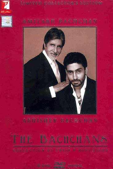 The Bachchans - Amitabh Bachchan and Abhishek Bachchan: Collection of Their 6 Best Films (Set of 6 DVDs)