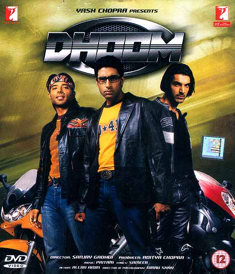 The Bang (Dhoom): A Classic Cops and Robbers Tale in the 21st Century (DVD with English Subtitles)