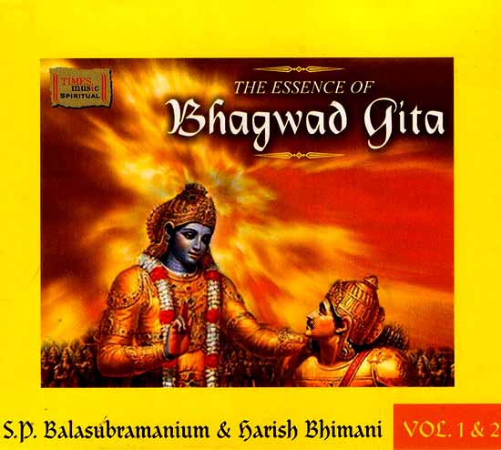 The Essence of Bhagwad Gita: 99 Selected Slokas (Vol 1 & 2) (Audio CD)