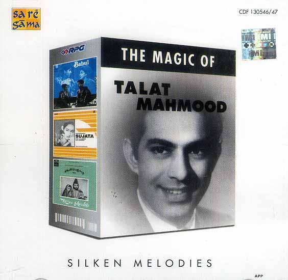 The Magic of Talat Mahmood (Silken Melodies): Set of Two Audio CDs