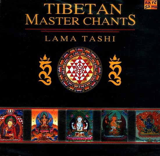 Tibetan Master Chants: Lama Tashi Is One of The World's Foremost Tibetan Chants Masters (With Booklet Inside) (Audio CD)
