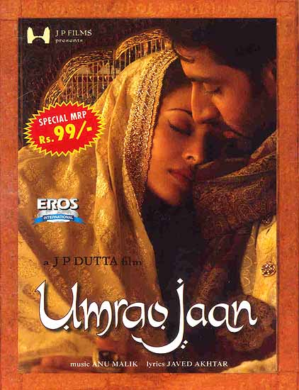 Umrao Jaan - The Story of a Courtesan from Lucknow (DVD with Subtitles in English)