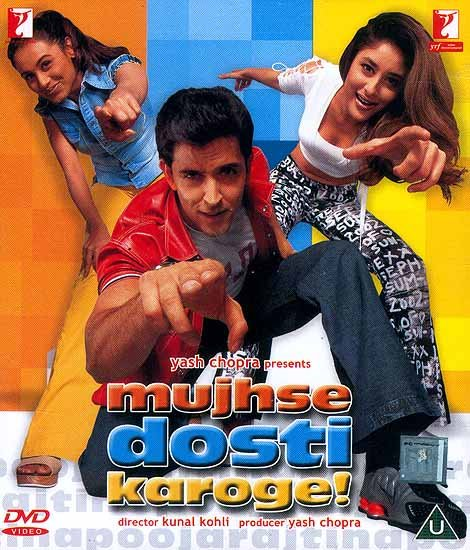 Will You be Friends with Me? - A Triangular Love Story from Simla to London (DVD with English Subtitles) (Mujhse Dosti Karoge)