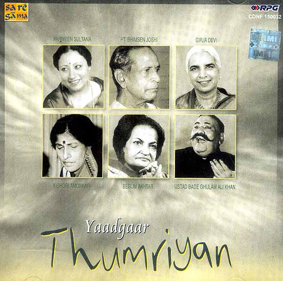 Yaadgaar Thumriyan (Audio CD)