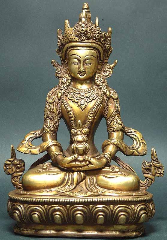 Tibetan Buddhist Deity Amitabha The Buddha of Infinite Life