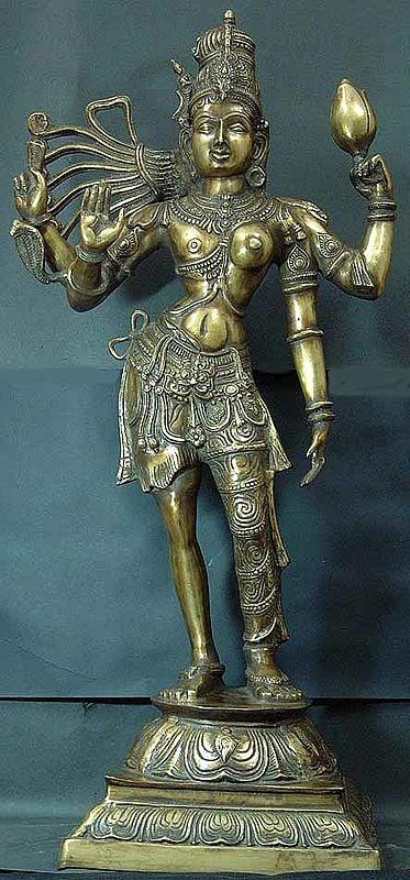 Large Size Ardhanarishvara