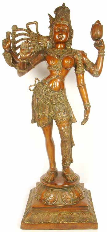 Large Size Ardhanarishvra