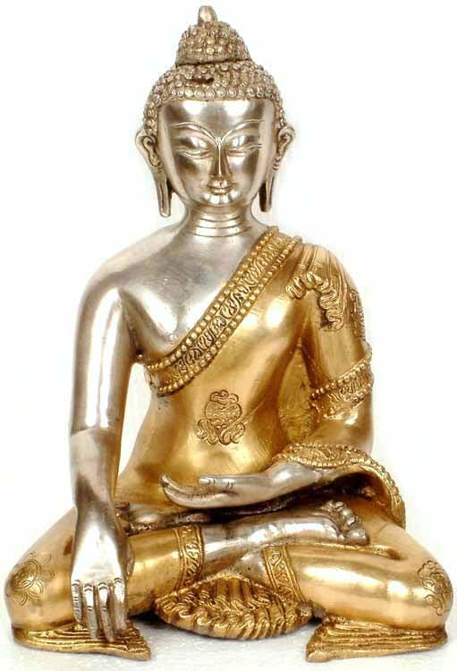 Buddha with Golden Robe