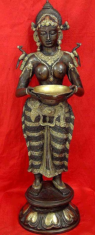 Large Size Deep Lakshmi