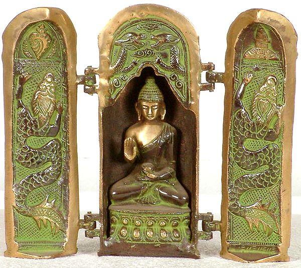 Tibetan Buddhist Folding Buddha Temple